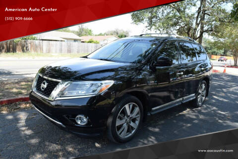 2013 Nissan Pathfinder for sale at American Auto Center in Austin TX