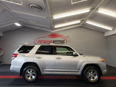 2012 Toyota 4Runner for sale at Premium Motors in Villa Park IL