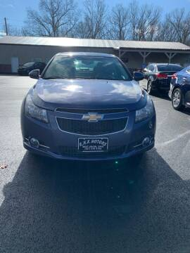 2014 Chevrolet Cruze for sale at RHK Motors LLC in West Union OH