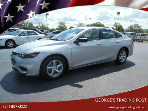 2018 Chevrolet Malibu for sale at GEORGE'S TRADING POST in Scottdale PA
