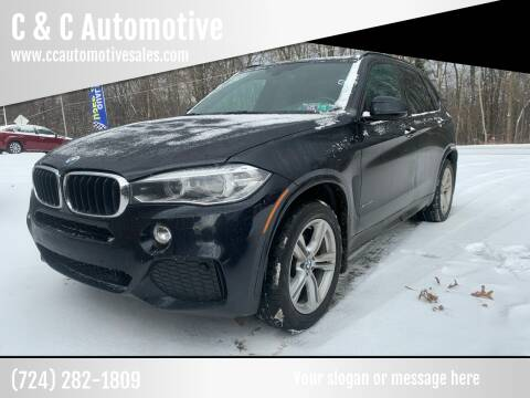 2014 BMW X5 for sale at C & C Automotive in Chicora PA