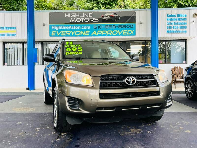 2011 Toyota RAV4 for sale at Highline Motors in Aston PA
