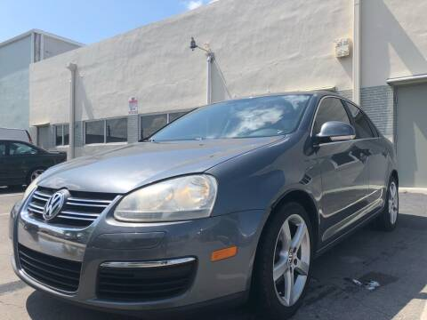 2008 Volkswagen Jetta for sale at Eden Cars Inc in Hollywood FL
