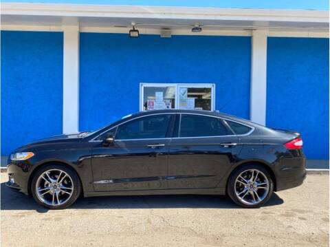2014 Ford Fusion for sale at Khodas Cars in Gilroy CA