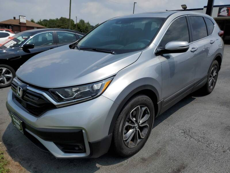 2020 Honda CR-V for sale at THE TRAIN AUTO SALES & RENTALS in Taylors SC
