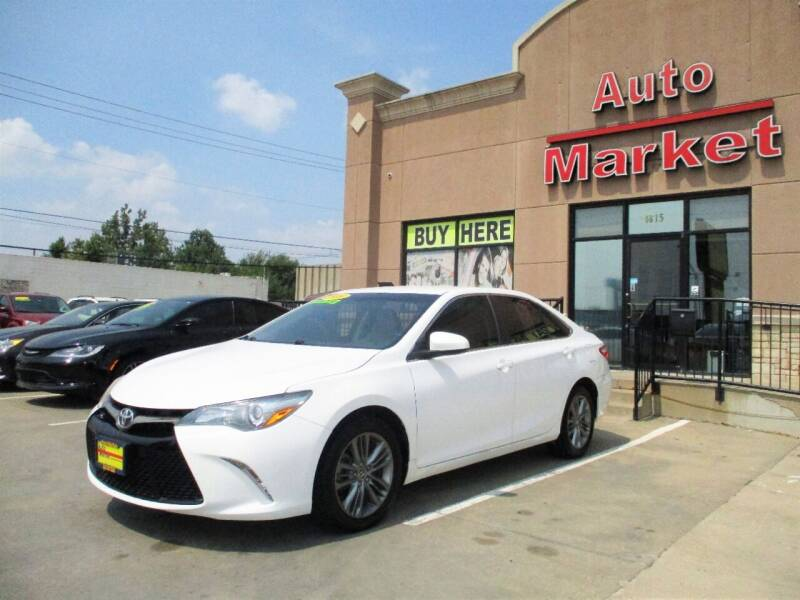 2016 Toyota Camry for sale at Auto Market in Oklahoma City OK