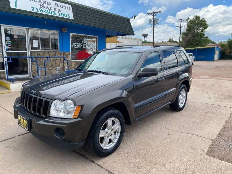 2005 Jeep Grand Cherokee for sale at Island Auto Sales in Colorado Springs CO