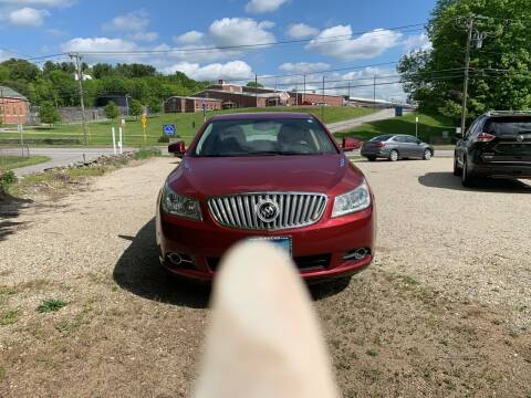 2011 Buick LaCrosse for sale at Sorel's Garage Inc. in Brooklyn CT