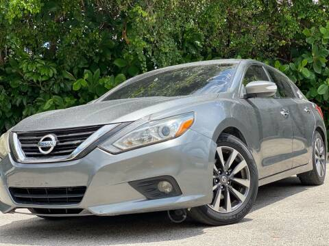 2017 Nissan Altima for sale at HIGH PERFORMANCE MOTORS in Hollywood FL