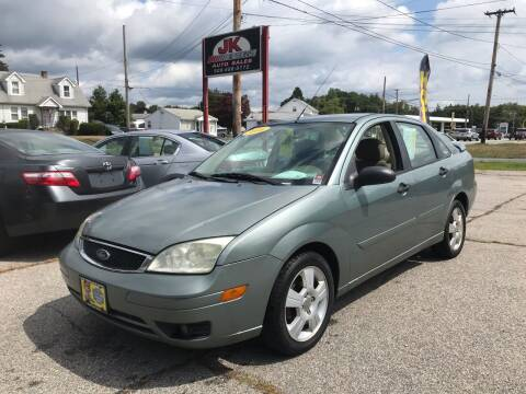 2006 Ford Focus for sale at JK & Sons Auto Sales in Westport MA