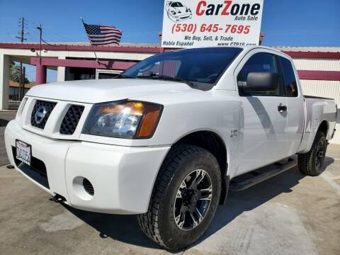 2004 Nissan Titan for sale at CarZone in Marysville CA