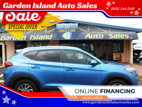 2016 Hyundai Tucson for sale at Garden Island Auto Sales in Lihue HI