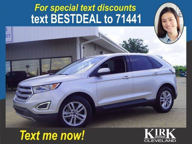 2018 Ford Edge for sale at Kirk Brothers of Cleveland in Cleveland MS