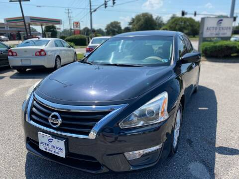 2014 Nissan Altima for sale at Auto Union LLC in Virginia Beach VA