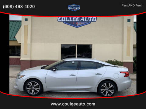 2017 Nissan Maxima for sale at Coulee Auto in La Crosse WI