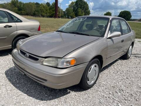 1998 Toyota Corolla for sale at Champion Motorcars in Springdale AR