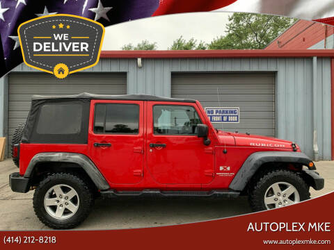 2012 Jeep Wrangler Unlimited for sale at Autoplexmkewi in Milwaukee WI