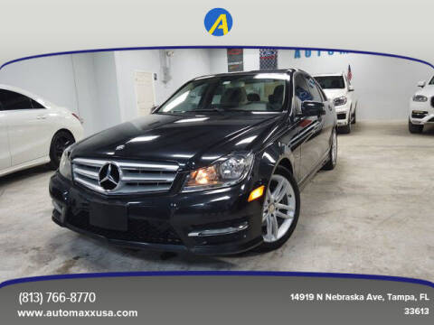 2012 Mercedes-Benz C-Class for sale at Automaxx in Tampa FL