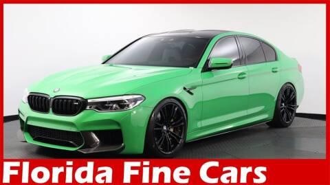 2019 BMW M5 for sale at Florida Fine Cars - West Palm Beach in West Palm Beach FL