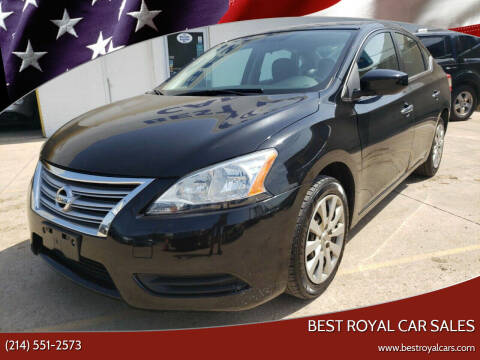 2013 Nissan Sentra for sale at Best Royal Car Sales in Dallas TX