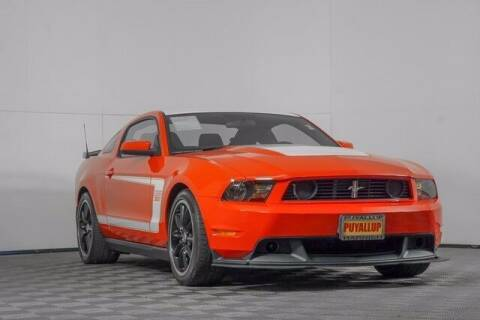 2012 Ford Mustang for sale at Chevrolet Buick GMC of Puyallup in Puyallup WA