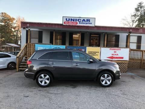 2012 Acura MDX for sale at Unicar Enterprise in Lexington SC