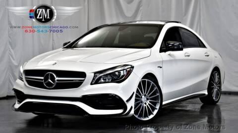 2017 Mercedes-Benz CLA for sale at ZONE MOTORS in Addison IL