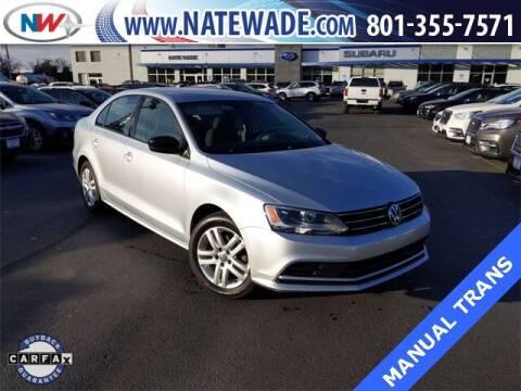 2015 Volkswagen Jetta for sale at NATE WADE SUBARU in Salt Lake City UT