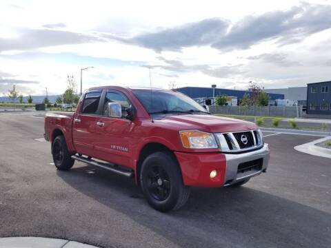 2009 Nissan Titan for sale at FRESH TREAD AUTO LLC in Springville UT