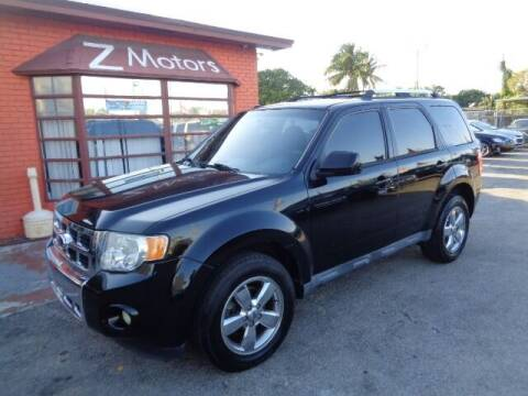 2012 Ford Escape for sale at Z MOTORS INC in Hollywood FL