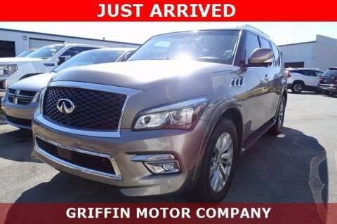 2017 Infiniti QX80 for sale at Griffin Buick GMC in Monroe NC