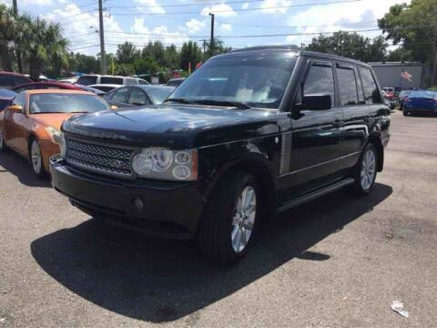 2007 Land Rover Range Rover for sale at QLD AUTO INC in Tampa FL