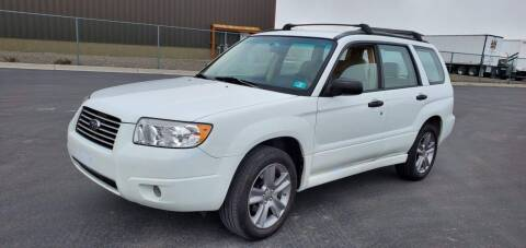 2007 Subaru Forester for sale at FRESH TREAD AUTO LLC in Springville UT