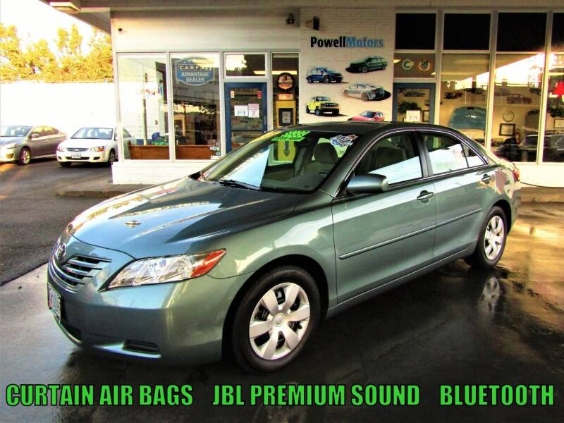 2008 Toyota Camry for sale at Powell Motors Inc in Portland OR