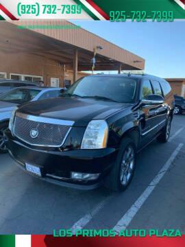 2007 Cadillac Escalade ESV for sale at Los Primos Auto Plaza in Antioch CA