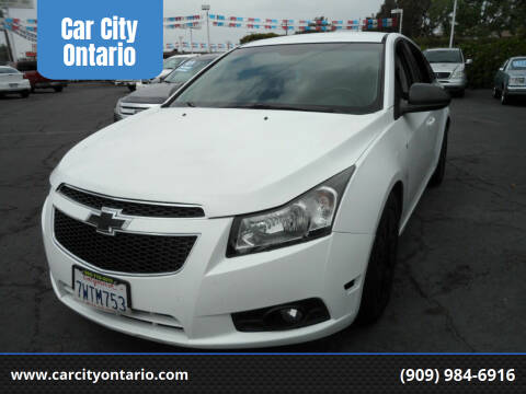2012 Chevrolet Cruze for sale at Car City Ontario in Ontario CA