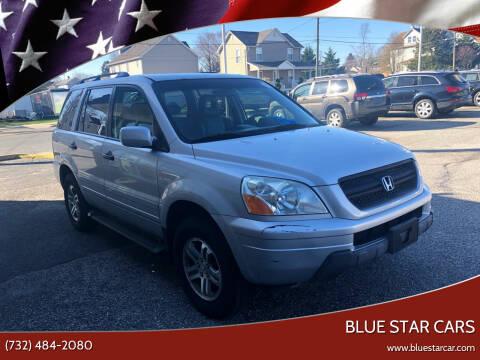 2004 Honda Pilot for sale at Blue Star Cars in Jamesburg NJ