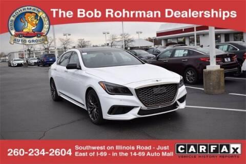 2018 Genesis G80 for sale at BOB ROHRMAN FORT WAYNE TOYOTA in Fort Wayne IN
