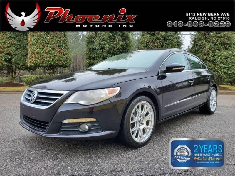 2012 Volkswagen CC for sale at Phoenix Motors Inc in Raleigh NC