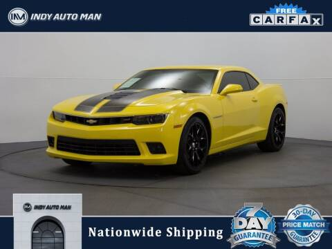 2015 Chevrolet Camaro for sale at INDY AUTO MAN in Indianapolis IN