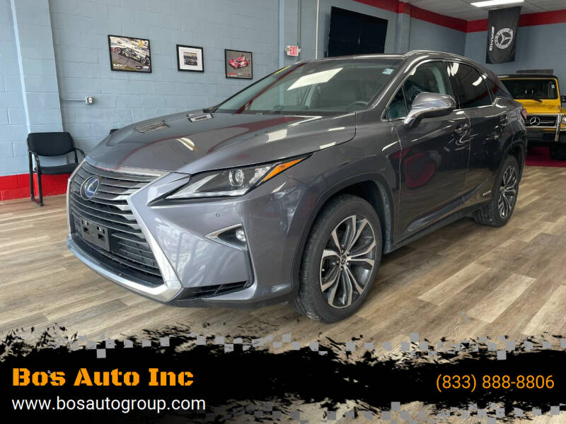 2018 Lexus RX 450h for sale at Bos Auto Inc in Quincy MA