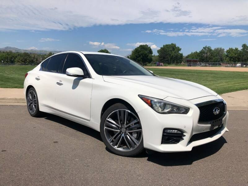 2015 Infiniti Q50 for sale at Nations Auto in Lakewood CO