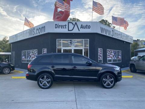2015 Audi Q7 for sale at Direct Auto in D'Iberville MS