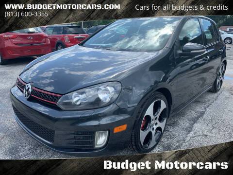 2011 Volkswagen GTI for sale at Budget Motorcars in Tampa FL