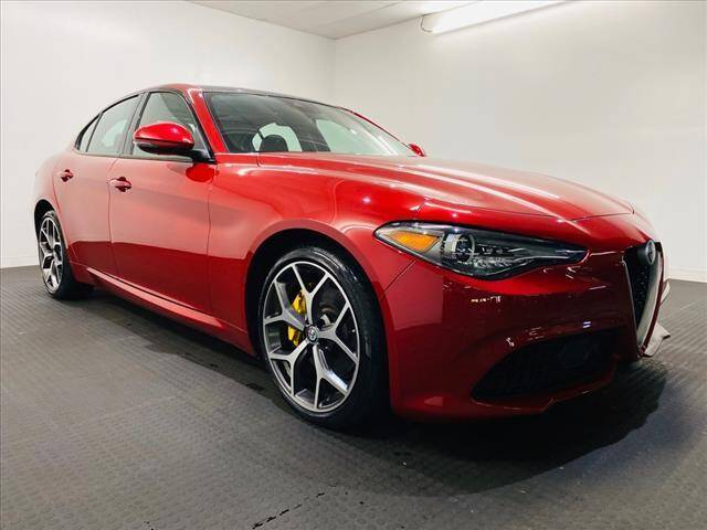 2018 Alfa Romeo Giulia for sale at Champagne Motor Car Company in Willimantic CT