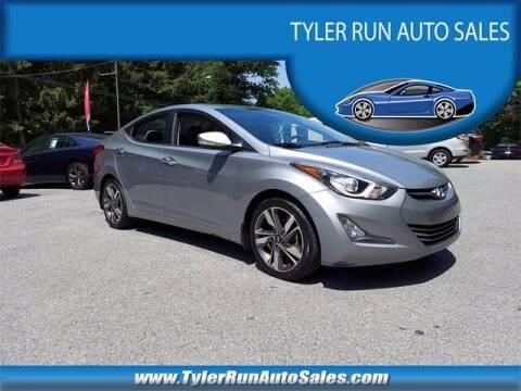 2015 Hyundai Elantra for sale at Tyler Run Auto Sales in York PA