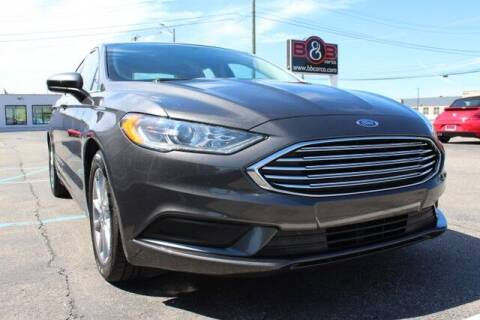 2017 Ford Fusion for sale at B & B Car Co Inc. in Clinton Twp MI