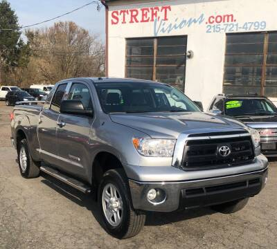 2012 Toyota Tundra for sale at Street Visions in Telford PA