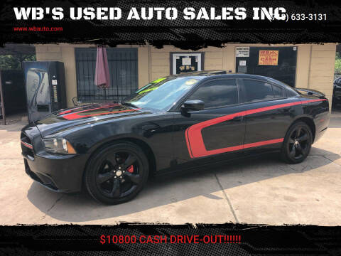 2012 Dodge Charger for sale at WB'S USED AUTO SALES INC in Houston TX