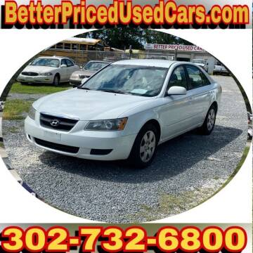 2008 Hyundai Sonata for sale at Better Priced Used Cars in Frankford DE